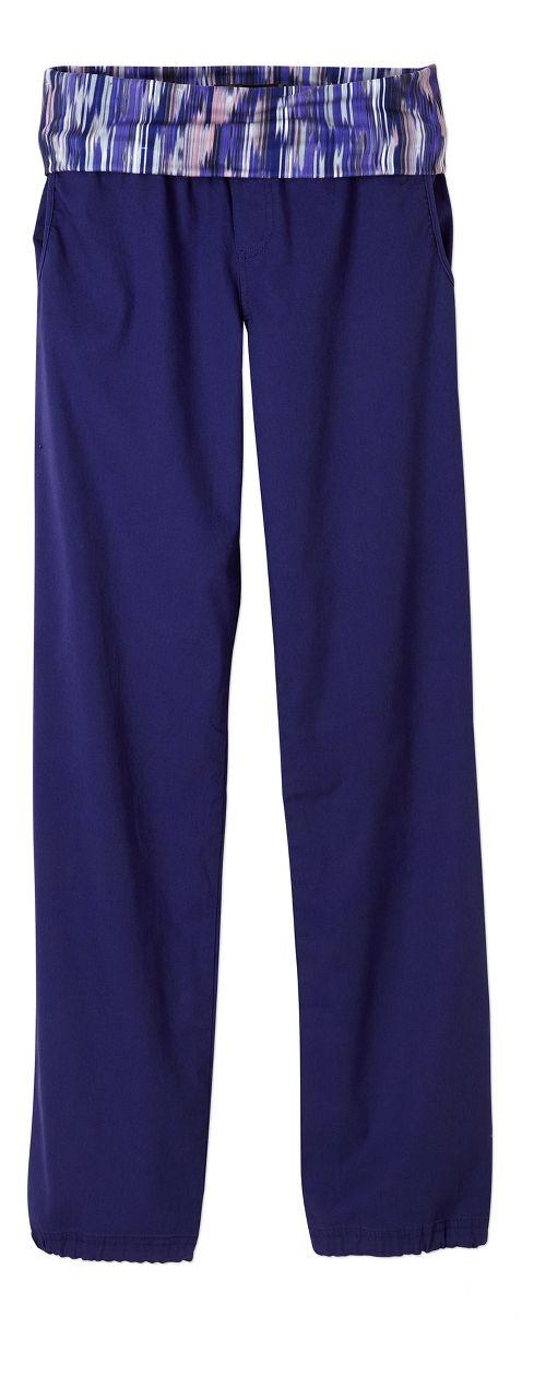Womens prAna Sidra Pants - Indigo XL