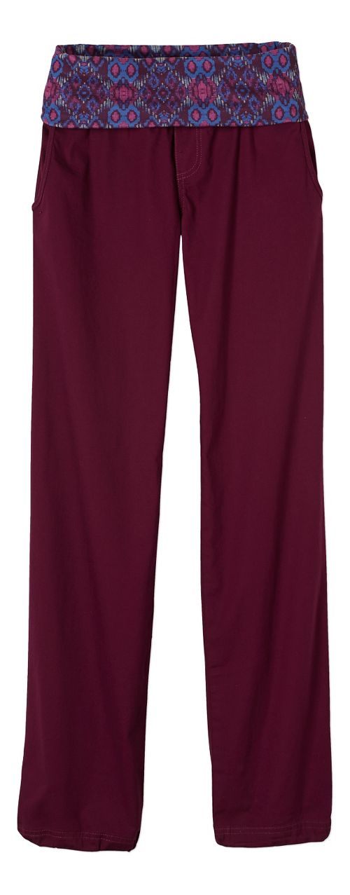 Womens prAna Sidra Pants - Purple L