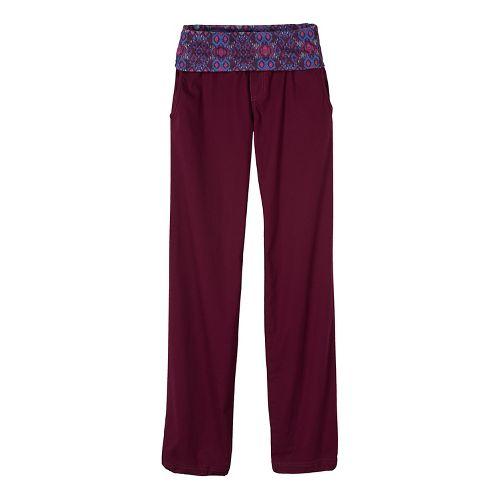 Womens prAna Sidra Pants - Purple XS