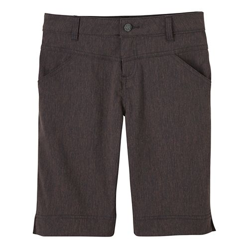 Womens Prana Tashia Shorts - Coal 6