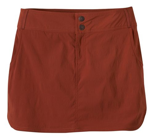 Womens Prana Britten Skort Unlined Shorts - Henna 6