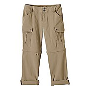 Womens Prana Sage Convertible Pants - Dark Khaki 2-T