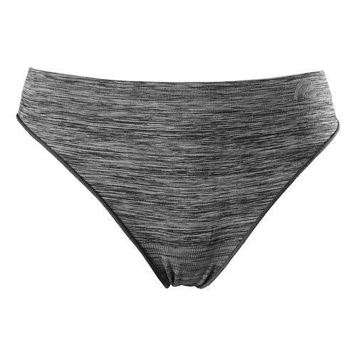 Womens R-Gear Undercover Seamless Printed Thong Underwear Bottoms - Charcoal/Dove Grey S