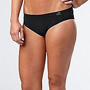 Womens R-Gear Undercover Seamless Hipster Bikini Underwear Bottoms - Black M