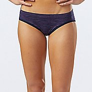 Womens R-Gear Undercover Seamless Printed Hipster Bikini Underwear Bottoms - Storm Blue/Lily S