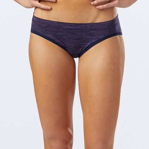 Womens R-Gear Undercover Seamless Printed Hipster Bikini Underwear Bottoms - Storm Blue/Lily M