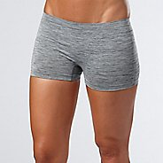 Womens R-Gear Undercover Seamless Printed Boy Short Underwear Bottoms - Charcoal/Dove Grey L