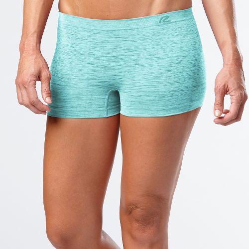 Womens R-Gear Undercover Seamless Printed Boy Short Underwear Bottoms - Sea Glass M