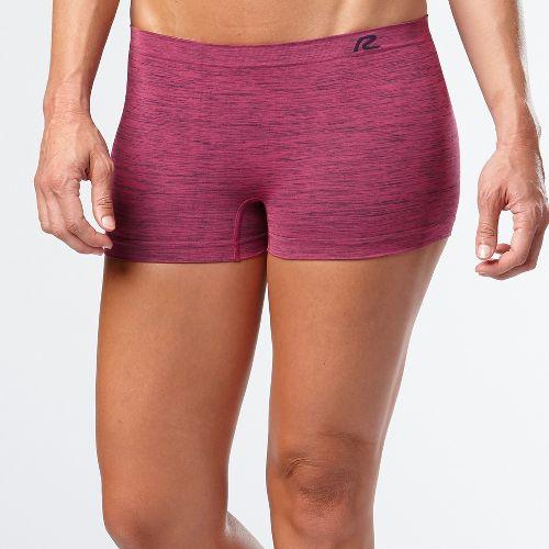 Womens R-Gear Undercover Seamless Printed Boy Short Underwear Bottoms - Let's Jam/Ruby L