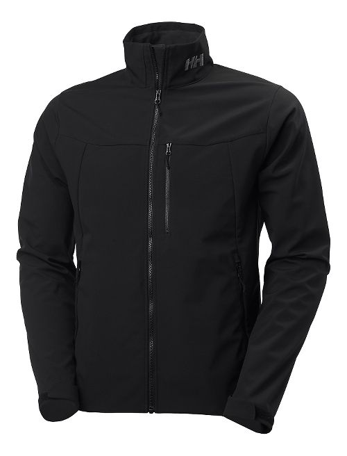 Mens Helly Hansen Paramount Softshell Cold Weather Jackets - Black S
