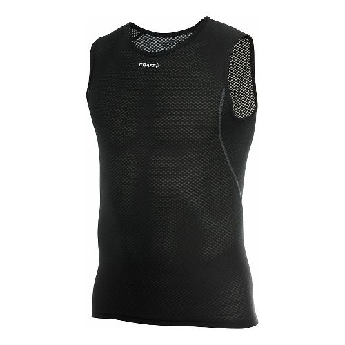 Men's Craft Cool Mesh Superlight Sleeveless Technical Top - Black L