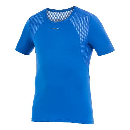 Men's Craft Cool Concept Piece Short Sleeve Technical Top - Royal S