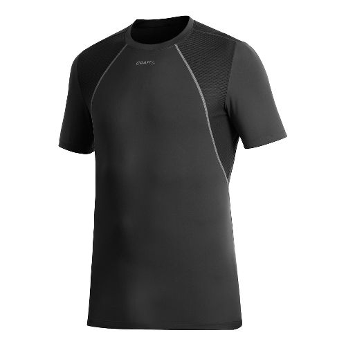 Men's Craft Cool Concept Piece Short Sleeve Technical Top - Black XL