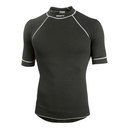 Men's Craft Active Crewneck Short Sleeve Technical Top - Black M