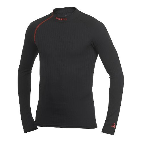 Men's Craft Active Extreme Crewneck Long Sleeve Technical Top - Black XL