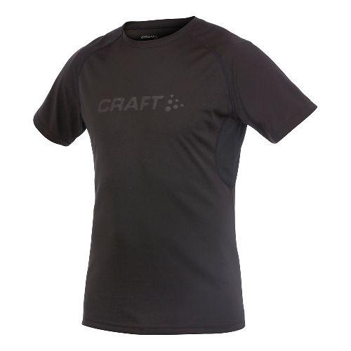 Men's Craft AR Tee Short Sleeve Technical Top - Black XXL