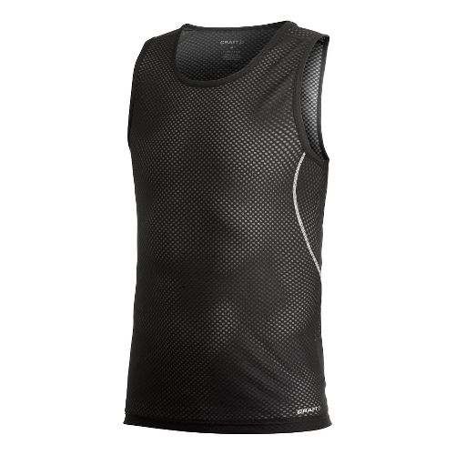 Men's Craft Cool Mesh Superlight Singlet Sleeveless Technical Top - Black L