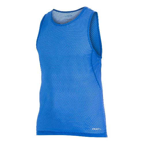 Men's Craft Cool Mesh Superlight Singlet Sleeveless Technical Top - Royal L
