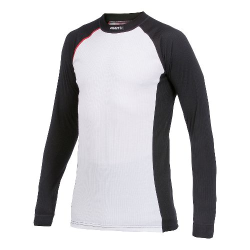 Men's Craft Active Multi 2-Pack Color Block Long Sleeve Technical Top - Black M