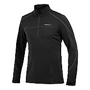 Men's Craft Thermal Stretch Pullover Long Sleeve Half Zip Technical Top