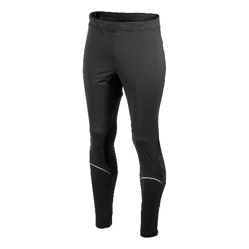 Men's Craft PR WP Stretch Full Length Tights - Black/Red L