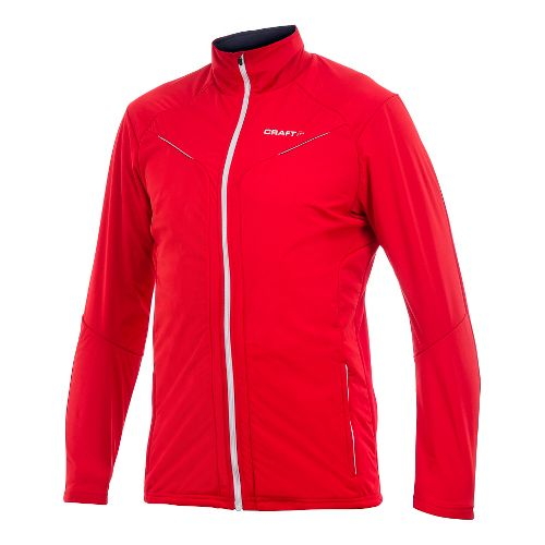 Men's Craft PXC Storm Jacket Jackets - Bright Red XS
