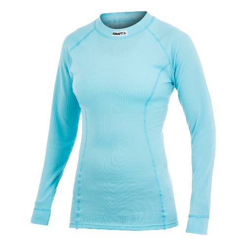 Women's Craft Active Crewneck Long Sleeve No Zip Technical Top - Aquamarine M
