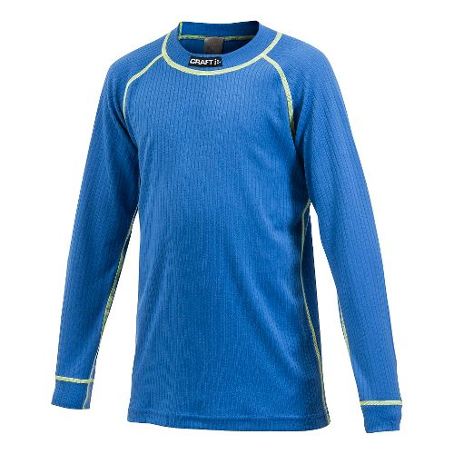 Kids Craft Active Multi 2-Pack Long Sleeve Technical Top - Royal YXS