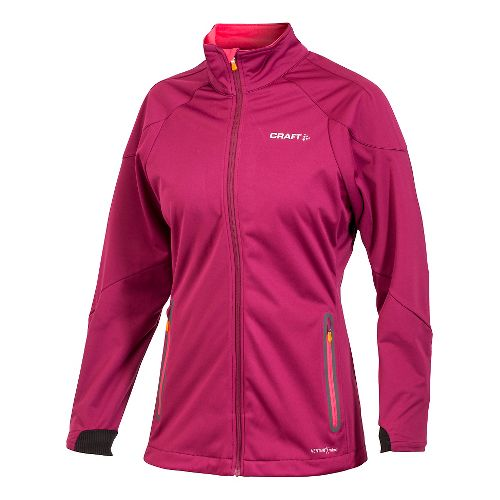 Women's Craft PXC Light Softshell Lightweight Jackets - Bordeaux S