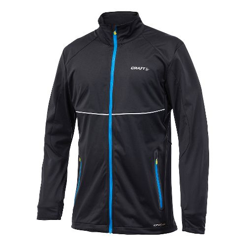 Men's Craft PXC Softshell Lightweight Jackets - Black L