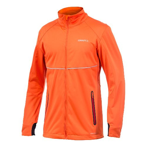 Men's Craft PXC Softshell Lightweight Jackets - Spice Magma M