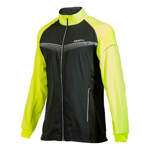 Men's Craft PR Brilliant Light Outerwear Jackets - Black/Flumino XL