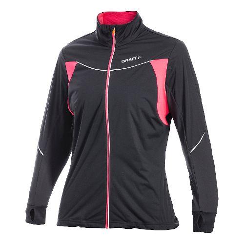 Women's Craft PR WP Stretch Outerwear Jackets - Black XXL