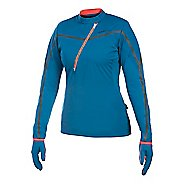 Women's Craft ER Wind Jersey Long Sleeve Half Zip Technical Top