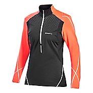 Women's Craft PR Brilliant Thermal Wind Top Long Sleeve Half Zip Technical Top
