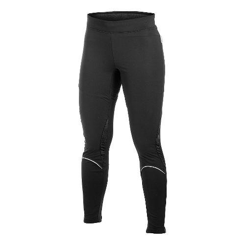 Women's Craft PR WP Stretch Full Length Tights - Black/Pink XXL