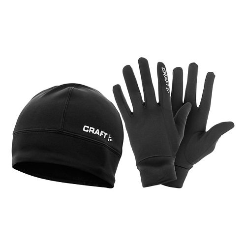 Craft Running Winter Gift Pack Headwear - Black L