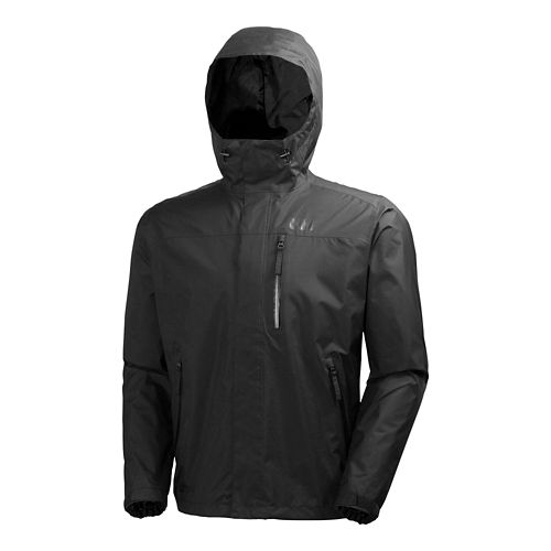 Mens Helly Hansen Vancouver Rain Jackets - Black XXL