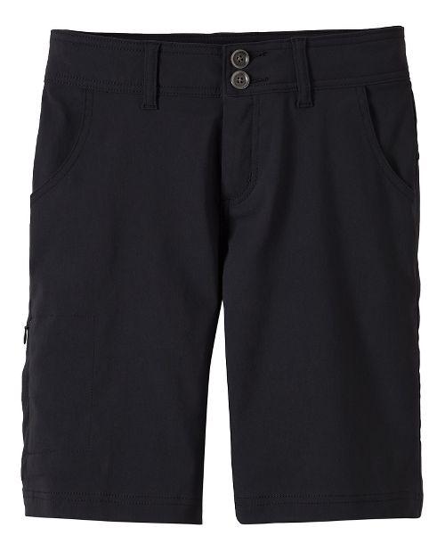 Womens Prana Halle Unlined Shorts - Black OS
