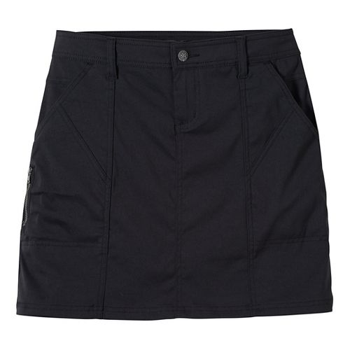 Womens Prana Monarch Fitness Skirts - Black OS