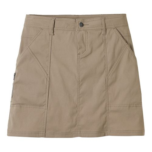 Womens Prana Monarch Fitness Skirts - Dark Khaki 6