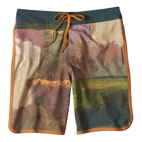 Mens prAna High Seas Short  Swim - Hunter 38