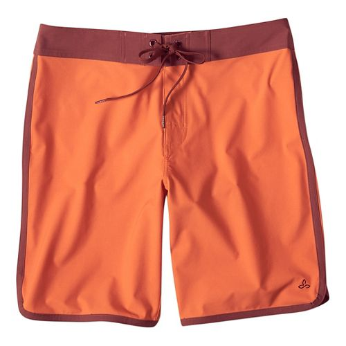 Mens prAna High Seas Short  Swim - Cayenne 34