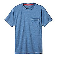 Mens prAna Ganaway Tee Short Sleeve Technical Tops