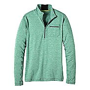Mens prAna Zylo 1/4 Zip Long Sleeve Technical Tops