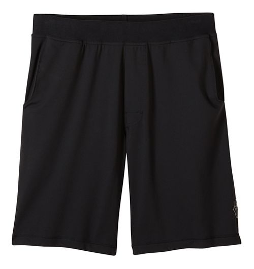 Mens prAna Mojo Chakara Unlined Shorts - Black L