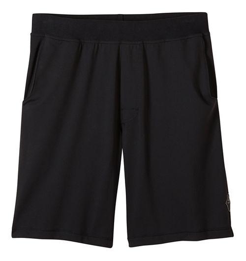 Mens prAna Mojo Chakara Unlined Shorts - Black XXL