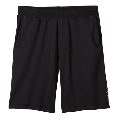 Mens prAna Mojo Chakara Unlined Shorts - Black XL