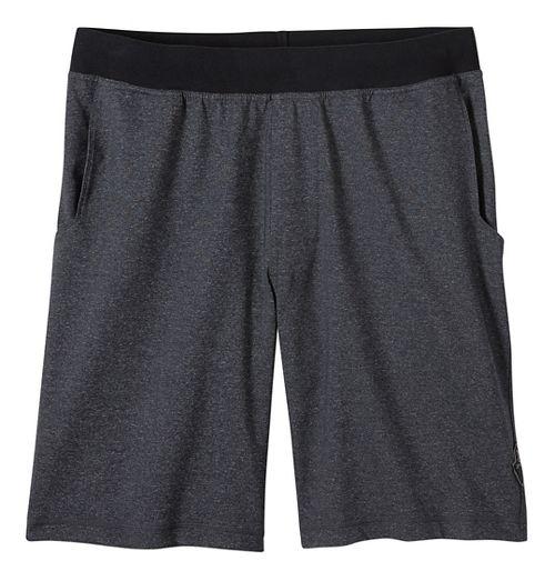 Mens prAna Mojo Chakara Unlined Shorts - Charcoal Heather M