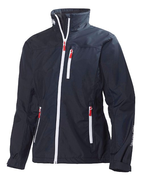 Womens Helly Hansen Crew Cold Weather Jackets - Navy M